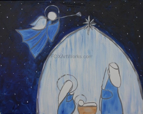 Blue Holy Night