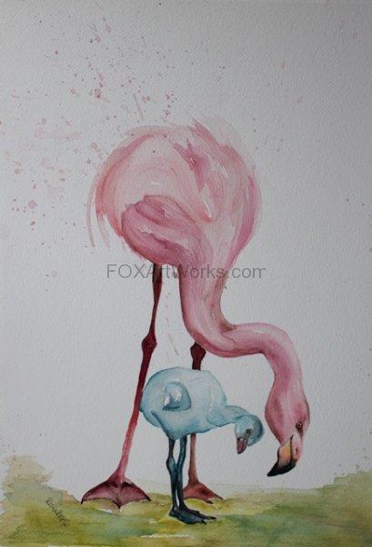 Little Baby Flamingo
